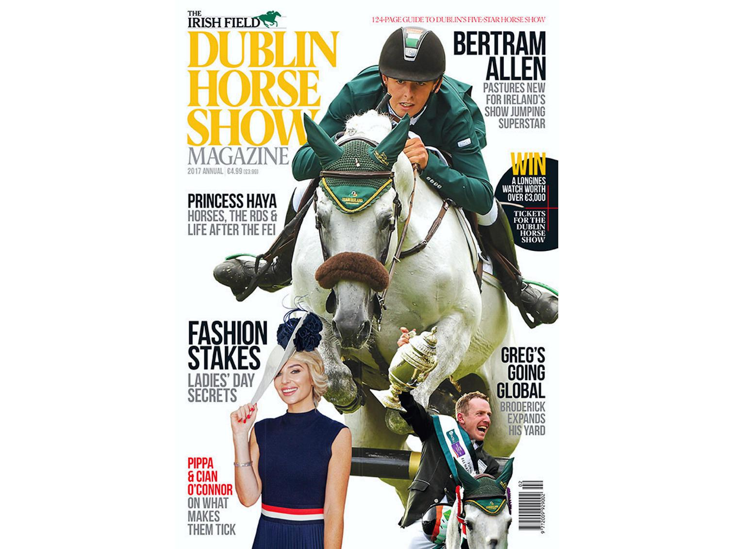 New Dublin Horse Show magazine out now