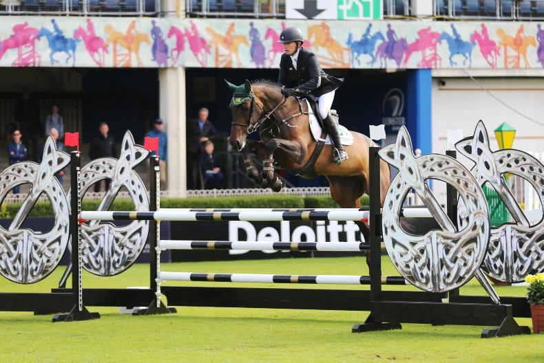 DUBLIN HORSE SHOW 2017:  Ryan delivers on BP First Editions