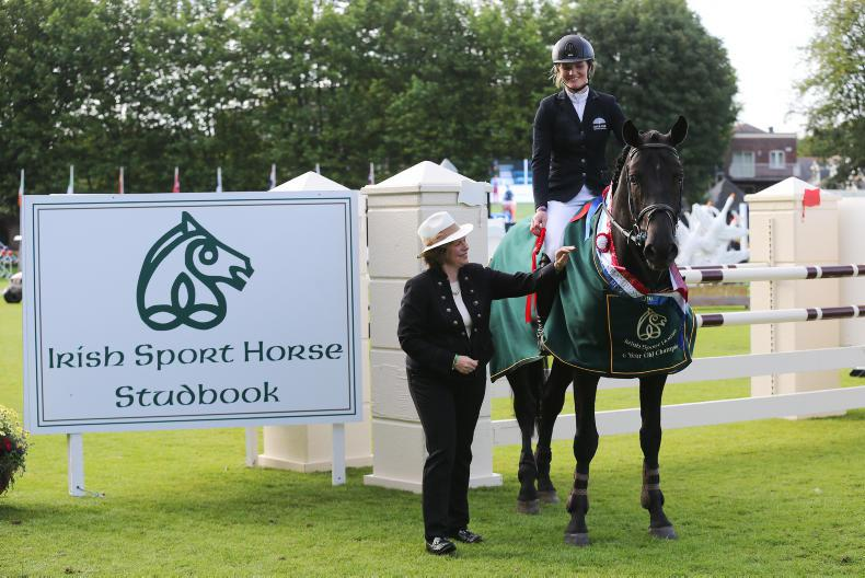 DUBLIN HORSE SHOW 2017:  Double joy for Burke