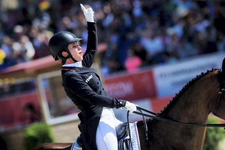 EUROPEAN CHAMPIONSHIPS:  Hoy in commanding lead after first day of dressage