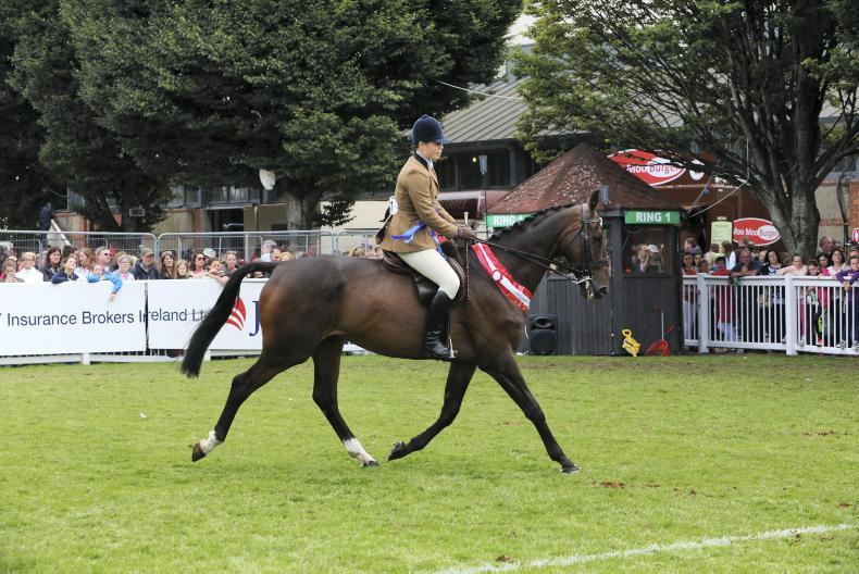 DUBLIN HORSE SHOW 2017:  Un Atout delivers for Clancy