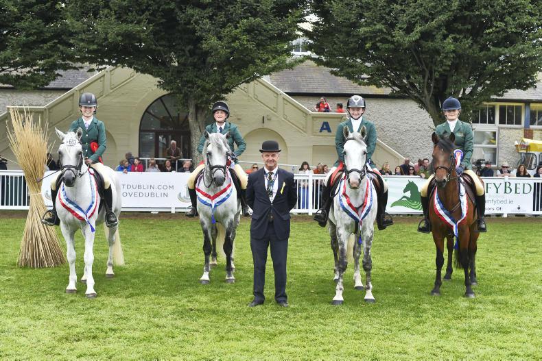 DUBLIN HORSE SHOW 2017:   Clear rounds seal Irish team win