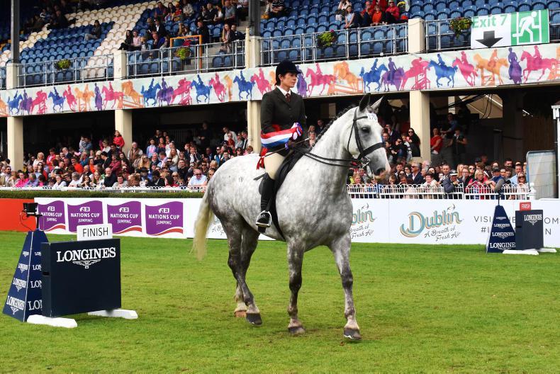 DUBLIN HORSE SHOW 2017:  Kilkarney proves a real Hero