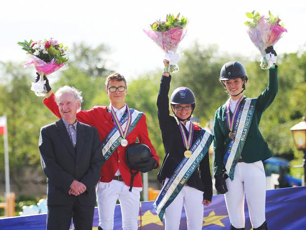 Showjumping silver and bronze for Ireland
