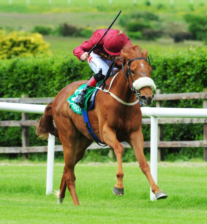 Ger Lyons and Treasuring strike Curragh gold