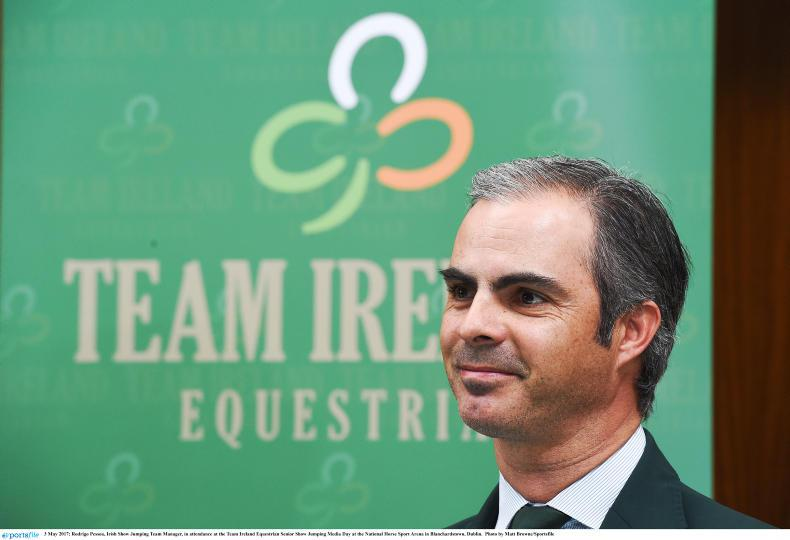 SHOW JUMPING:  European Championships campaign begins for Irish team