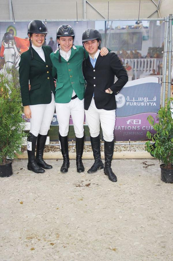 Clean sweep for Irish students