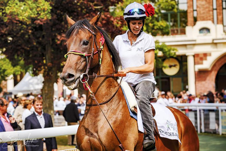 FRANCE: Cirrus and Solow strut their stuff