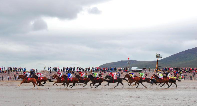 GLENBEIGH PONY RACES: Scenes from the beach