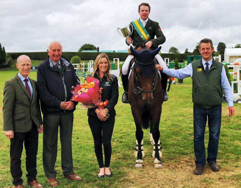 Greg Broderick crowned Irish National Show Jumping Champion