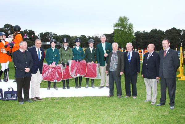 Bronze medal for Irish pony riders