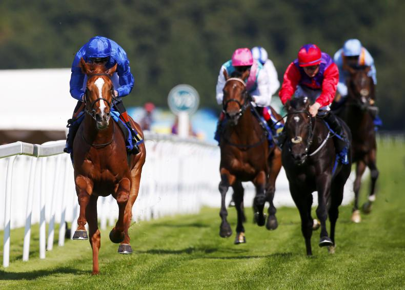BRITAIN: Derby on the horizon for classy Masar