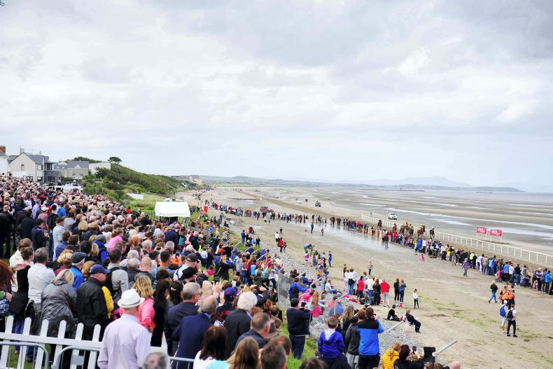 LAYTOWN SPECIAL: Green Fields of France on an Irish beach