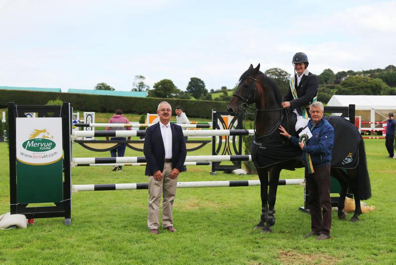 SHOW JUMPING: Keane secures the title