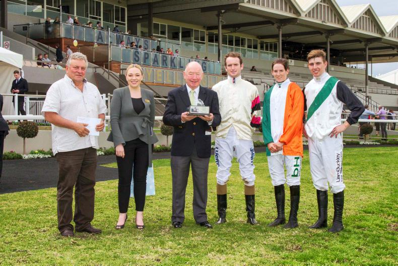 AUSTRALIA: Meyler sweeps jockeys' series