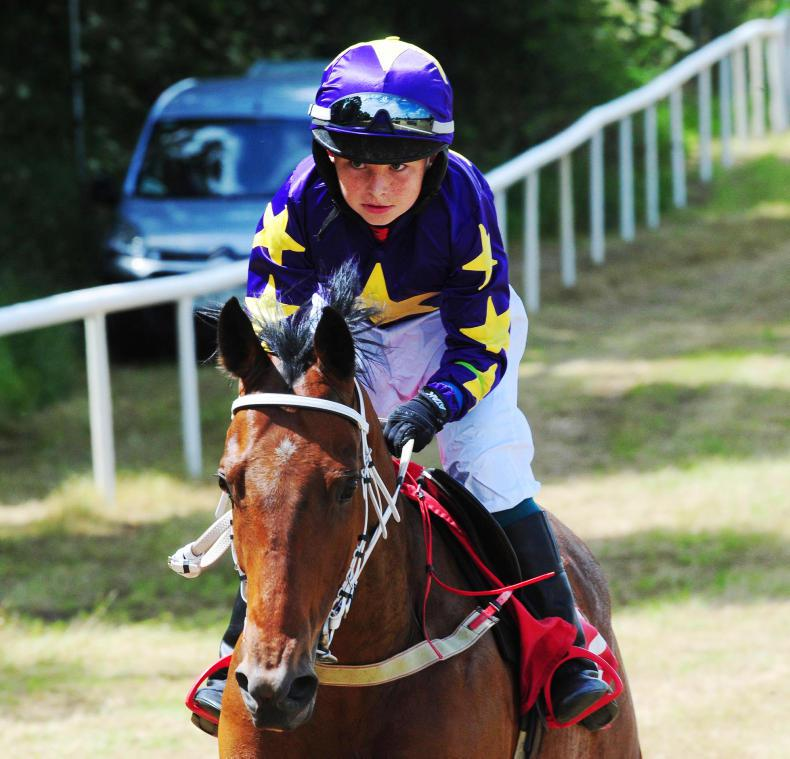 PONY RACING:  Walsh in control with treble