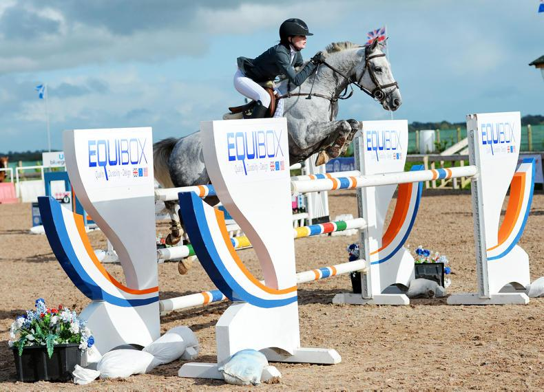 SHOW JUMPING: Hunky Dory for Hughes Kennedy