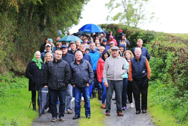 MARGIE McLOONE: Andy Oliver's open day attracts a crowd