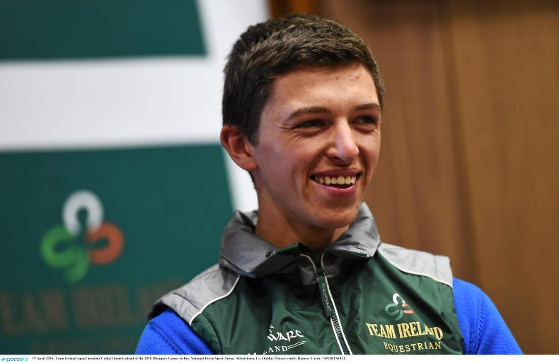 BALLINDENISK INTERNATIONAL:  Crowning win for Daniels and King