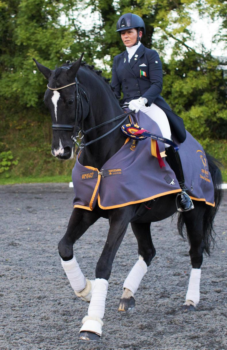 DRESSAGE: Dunphy successfully defend her title in Cavan