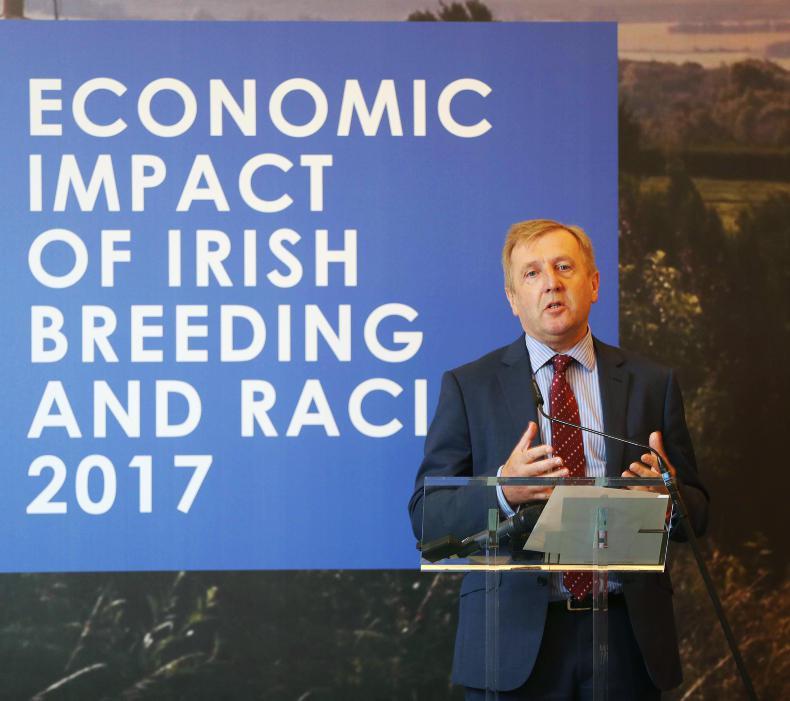 What is racing and breeding worth to the Irish economy?