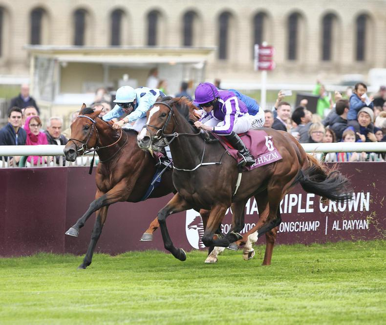 FRANCE: Happily beats the boys to land Lagardere