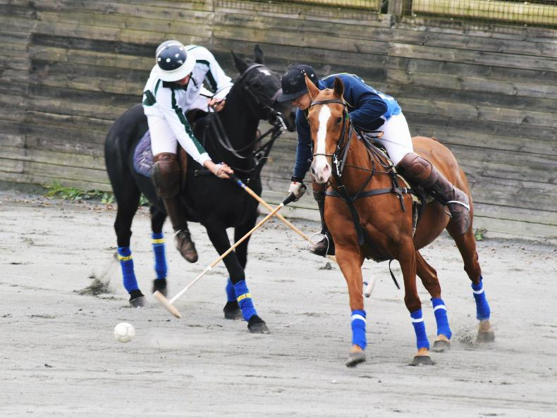 AROUND THE COUNTRY:  Competitive action at polo winter season opener