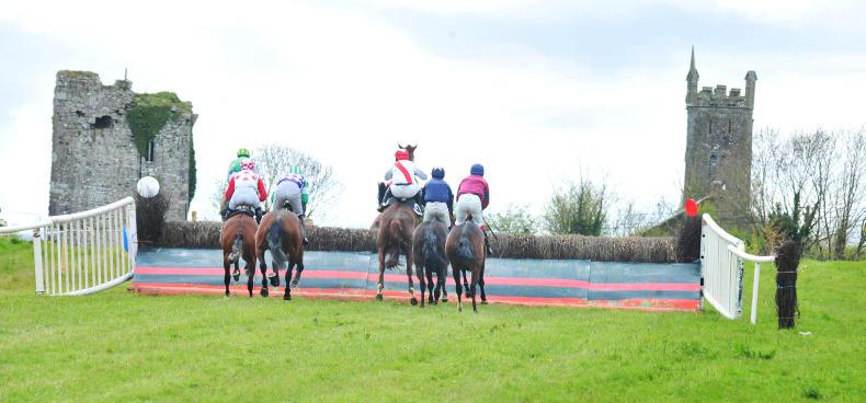MARGIE McLOONE:  Please don't scare the horses!