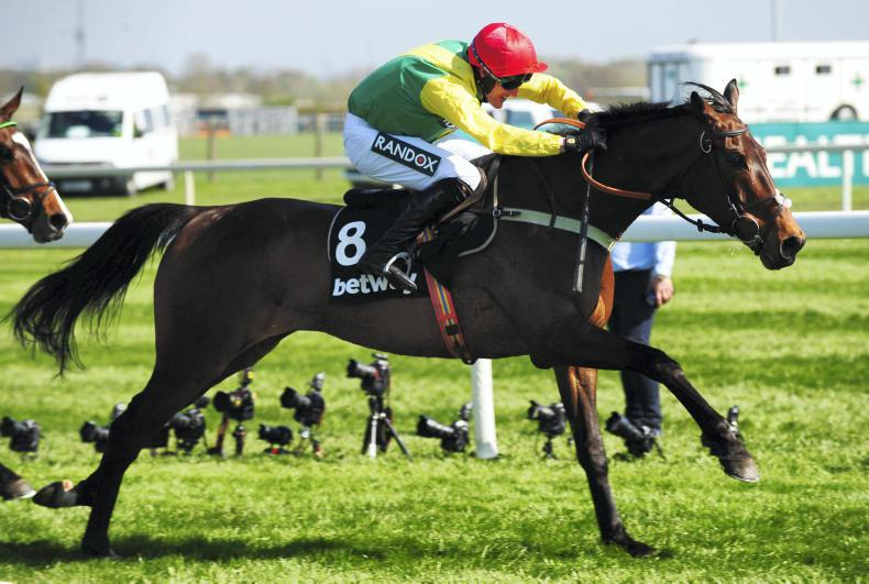 Finian's Oscar up and running over fences at Chepstow