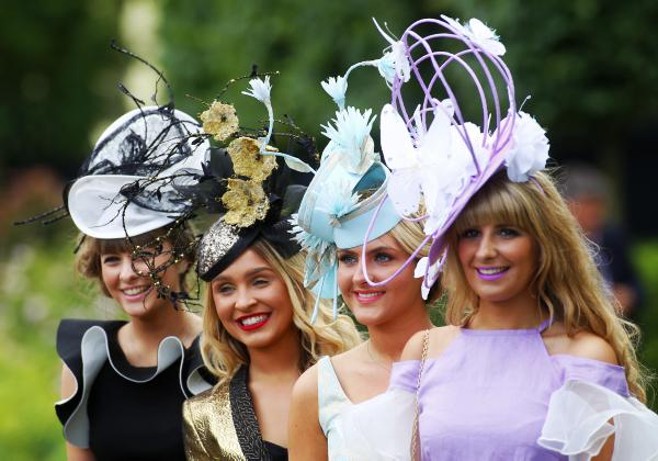 Fascinators go forth and multiply