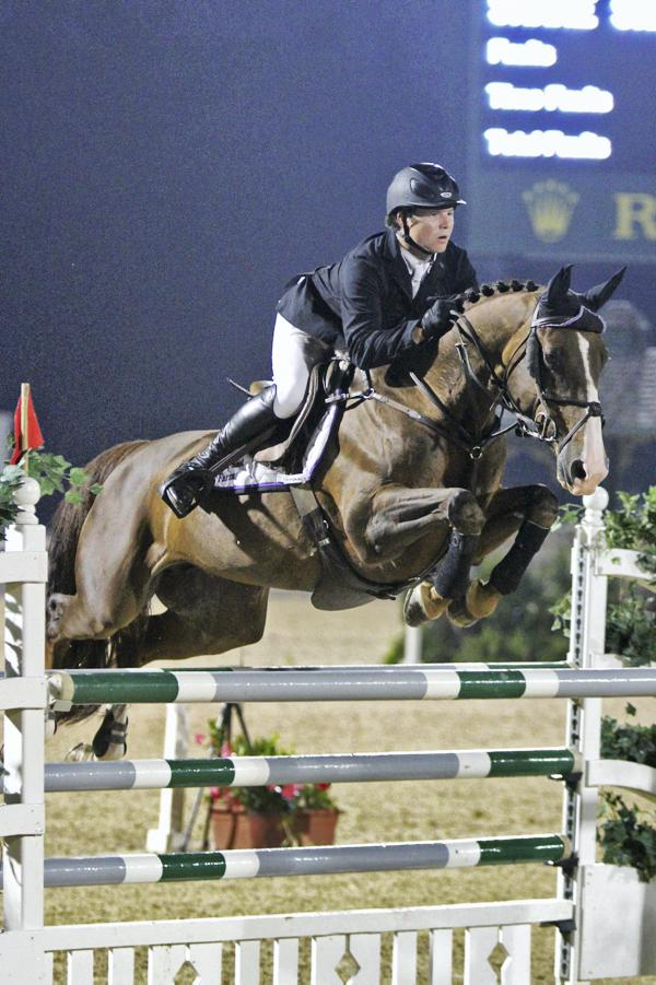 Flying the flag in American show jumping