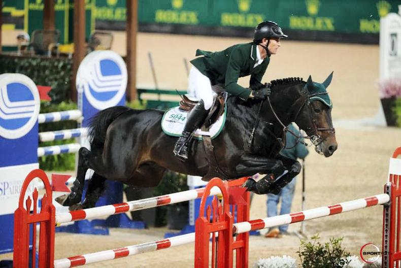 Third place for Richie Moloney in five-star Grand Prix at Tryon