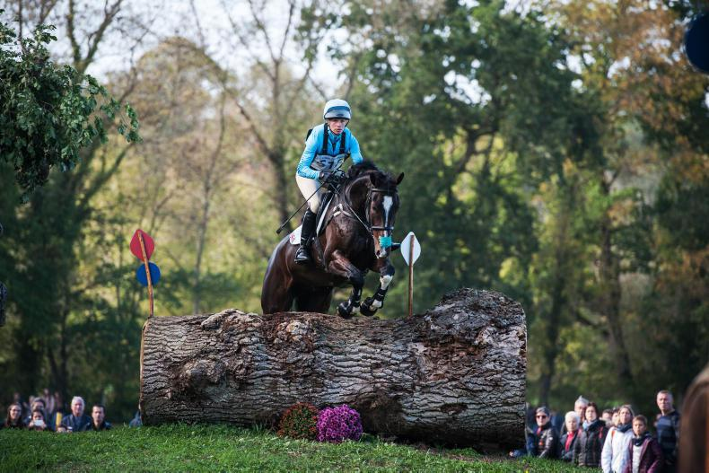 EVENTING:  No Monkeying Around for Taylor