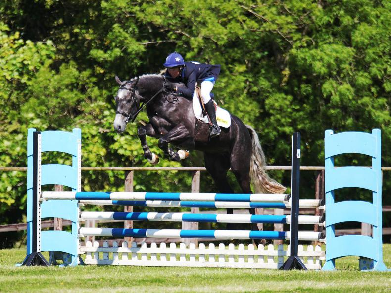 EVENTING:  Bob Chaplin delivers silver for Tapner