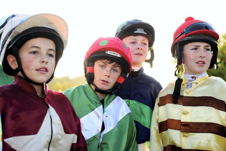 DOWTH: Irish Pony Club riders take to the track