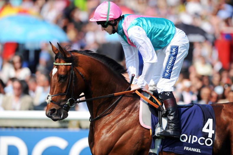 Frankel up £50,000 as Juddmonte announce fees for 2018