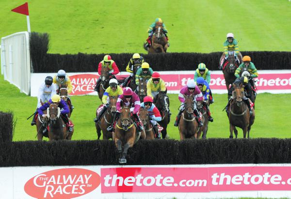 Meade claims the Galway Riches