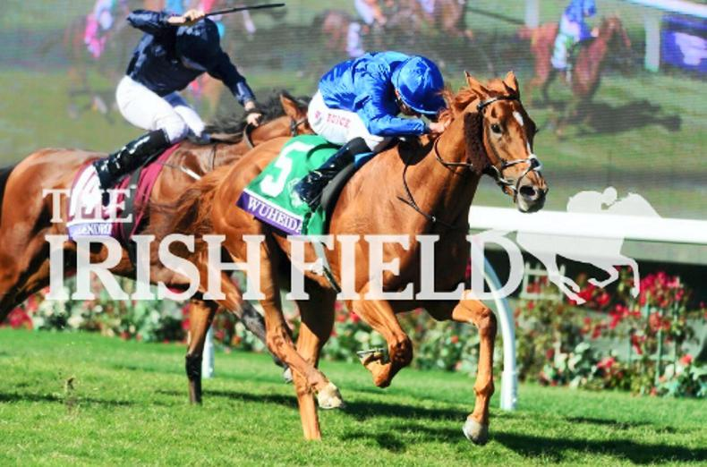 Wuheida lands Filly & Mare glory for Charlie Appleby and William Buick