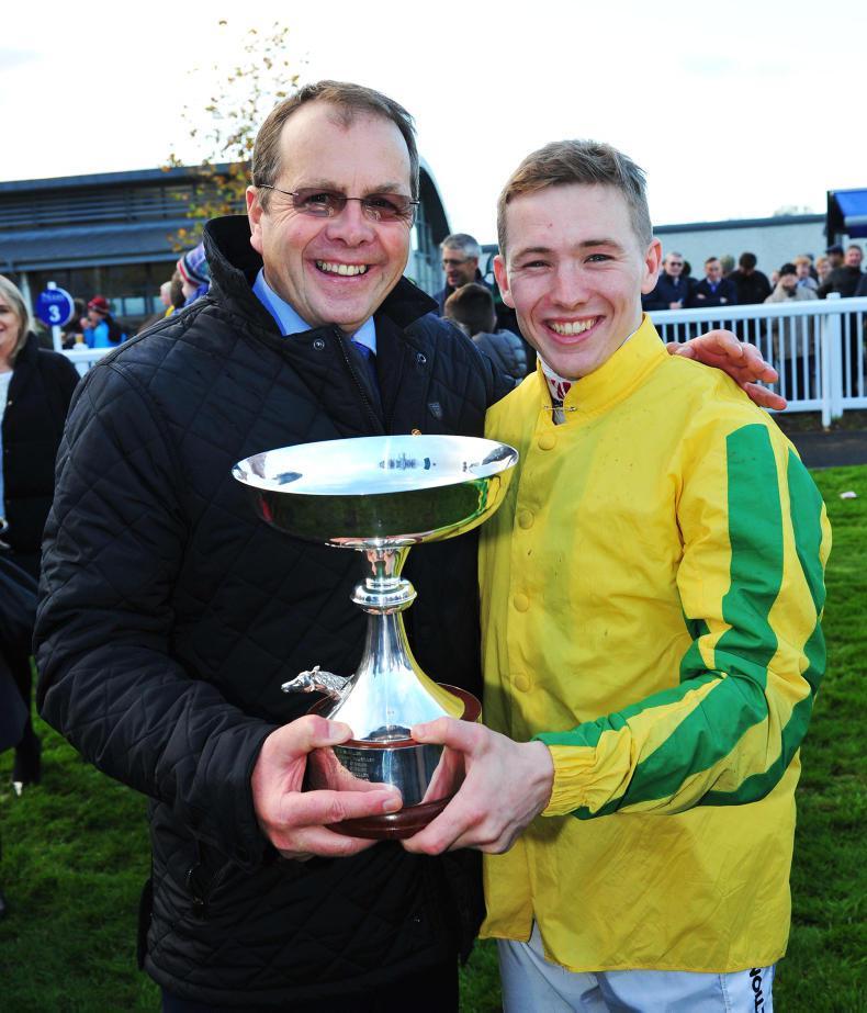 IRISH FLAT CHAMPIONS:  Keane triumphant