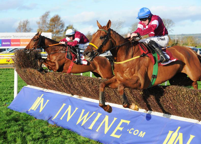 DOWN ROYAL SATURDAY: Gallant Outlander back to best