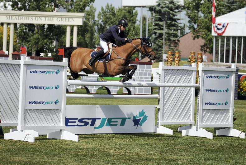 INTERNATIONAL: Five-star win for Swail in Spruce Meadows