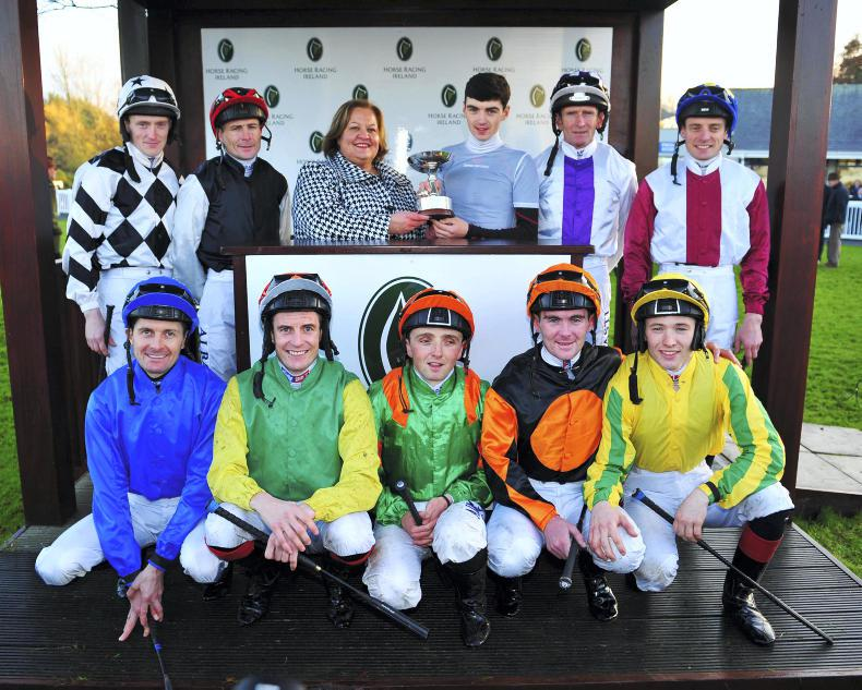 VIEW FROM ABOVE: Oisin crowned champion