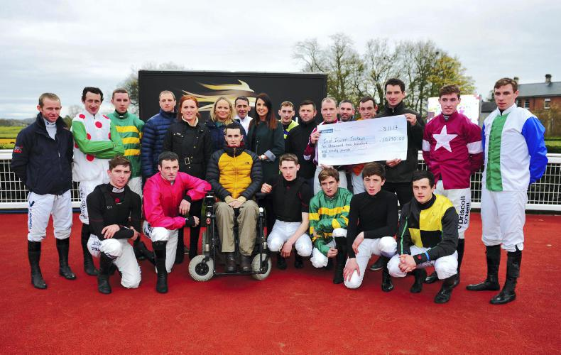 VIEW FROM ABOVE: Racing and fundraising at Down Royal