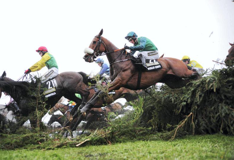 Ten Irish-trained among entries in the Randox Health Becher Chase at Aintree