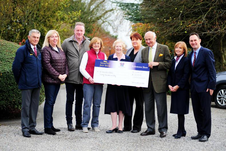 NEWS:  €20,000 donated to St Francis Hospice