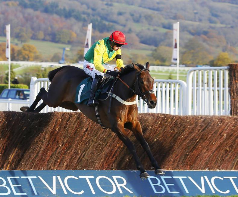 SIMON ROWLANDS: Finian's shows serious speed