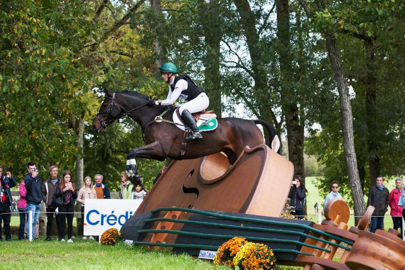 EVENTING:  Power just pipped to bronze medal