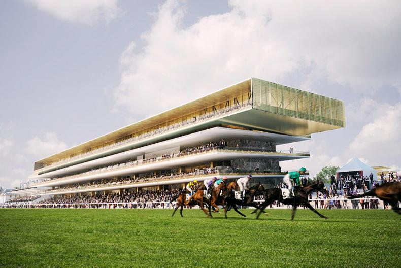 FRANCE: Longchamp on track