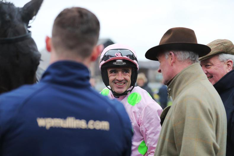 Ruby Walsh out for three months