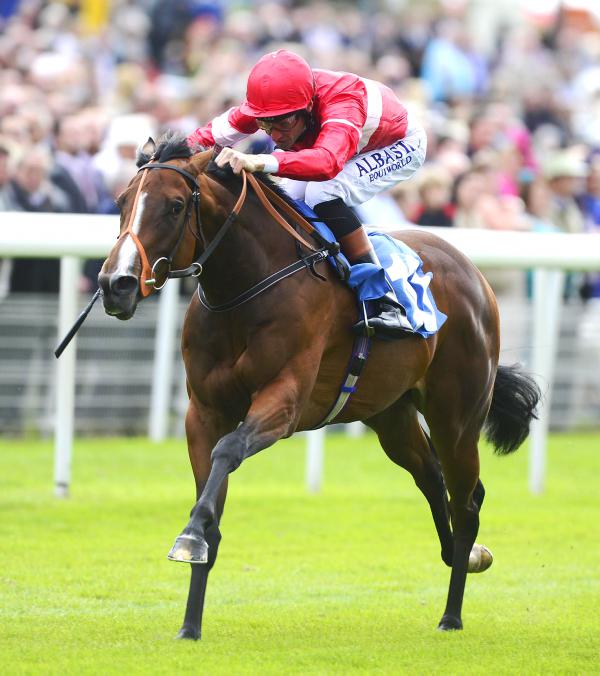 Tiggy Wiggy whizzes home in the Pinsent Lowther Stakes